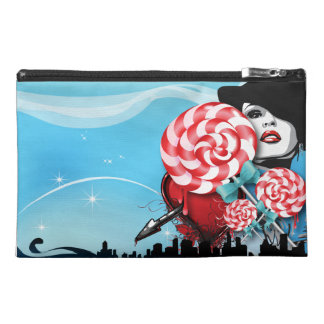 Peppermint Candy Cane Travel Accessories Bags