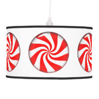 Peppermint Candy Ceiling Lamps