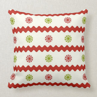 Peppermint Candy Christmas pillow