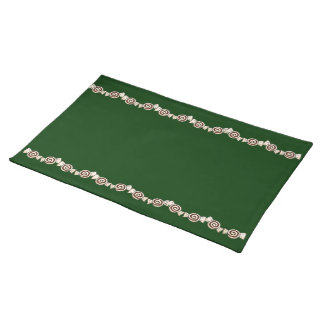 Peppermint Candy Cloth Placemat