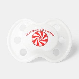 Peppermint Candy Custom Pacifier