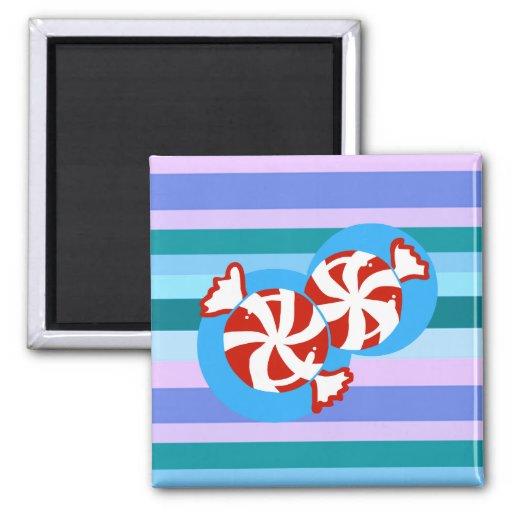 Peppermint Candy Fridge Magnet