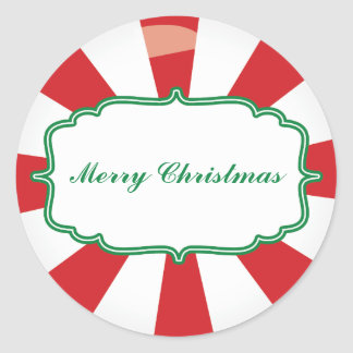 Peppermint Candy Gift sticker