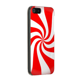 Peppermint Candy Metallic iPhone SE/5/5s Case