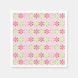Peppermint Candy Napkin