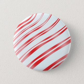 Peppermint Candy Stripe Button