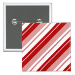 Peppermint Candy Stripe Buttons