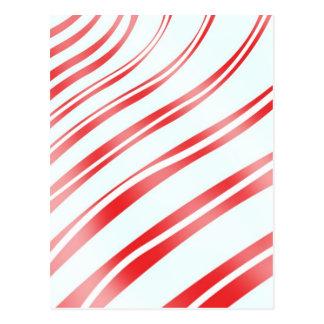 Peppermint Candy Stripe Postcard