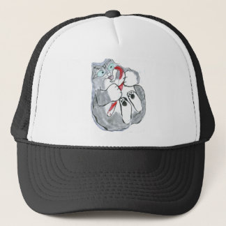 Peppermint Cany Cane, Yum! Trucker Hat