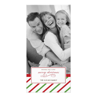Peppermint Christmas Card