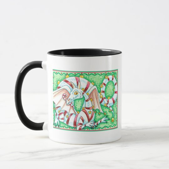 Peppermint Dragon Mug
