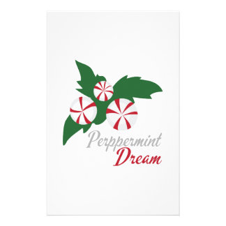 Peppermint Dream Stationery