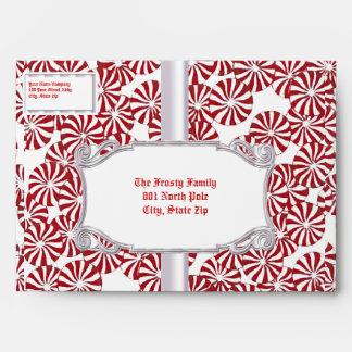 Peppermint Envelopes