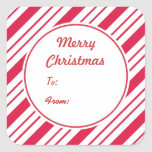 Peppermint Gift Stickers