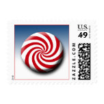 Peppermint Hard Candy 2014 Christmas Postage USPS