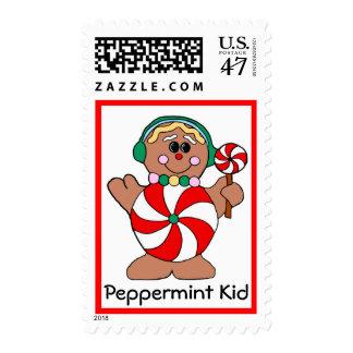 Peppermint Kid Postage