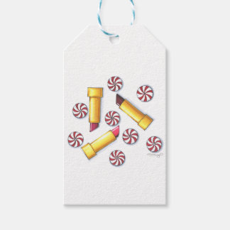 Peppermint Kisses Gift Tags