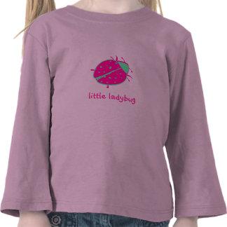 Peppermint Ladybug Girls Toddler T-Shirt
