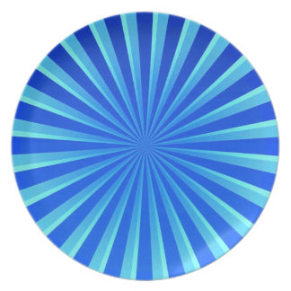 Peppermint Melamine Plate