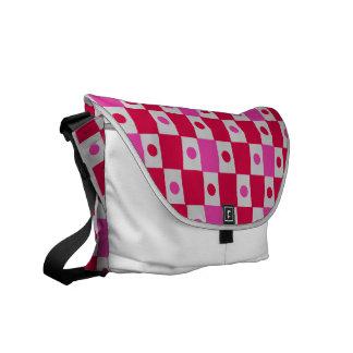 Peppermint Patty Checkerbard Messenger Bag