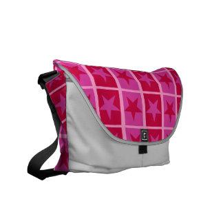 Peppermint Patty Stars Messenger Bag