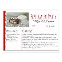 Peppermint Patty Stuffed Ritz Crackers ( Custom ) Postcard