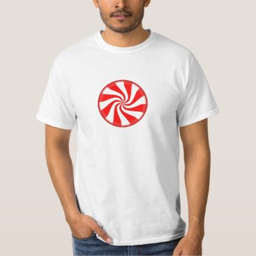 Beach Themed Peppermint Pop Art Tshirt