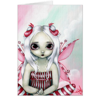 """Peppermint Pretty"" Greeting Card"