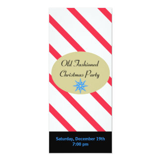Peppermint Stick Christmas Card