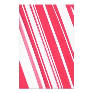 Peppermint Stick Stationery Paper