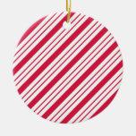 Peppermint Stripe Ornament