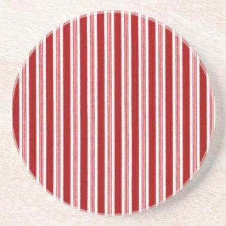 Peppermint Stripes Coaster