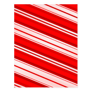 Peppermint Stripes Postcard