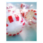 Peppermint Sweet Tooth Photo Customized Letterhead