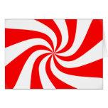 peppermint swirl candy card