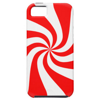 peppermint swirl candy iPhone 5 cases