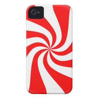 peppermint swirl candy Case-Mate iPhone 4 cases