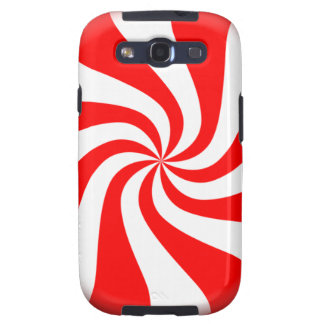 peppermint swirl candy galaxy SIII cases