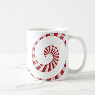 Peppermint swirl coffee mug