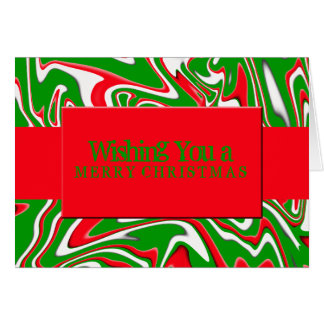 Peppermint Swirl-Customizable Color Cards