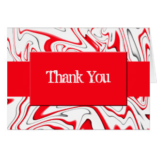 Peppermint Swirl-Customizable Color Greeting Card