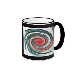 Peppermint Swirl.. Ringer Mug