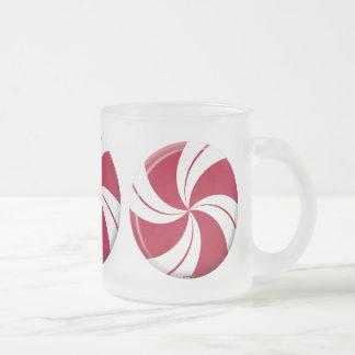 Peppermint Swirl Stripe Candy Mugs