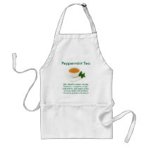Peppermint Tea apron