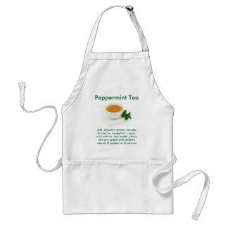 Peppermint Tea apron