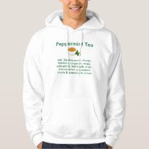 Peppermint Tea  men's hooded sweatshirt