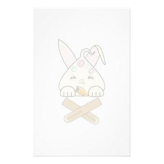 Peppermint Topped Vanilla Hopdrop Crossticks Customized Stationery