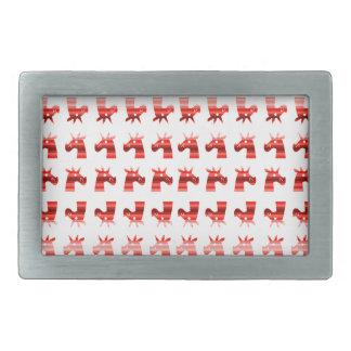 Peppermint Unicorns Belt Buckle