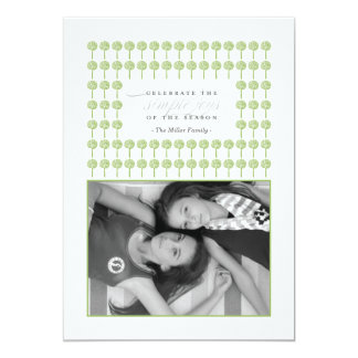 Peppermint Wicked Framed Holiday Photo Card