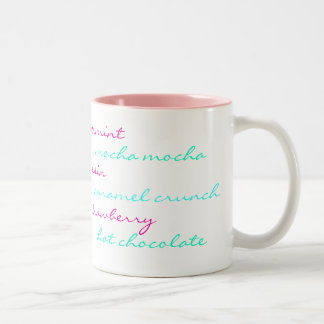 Peppermint Yummy Scribble Mug